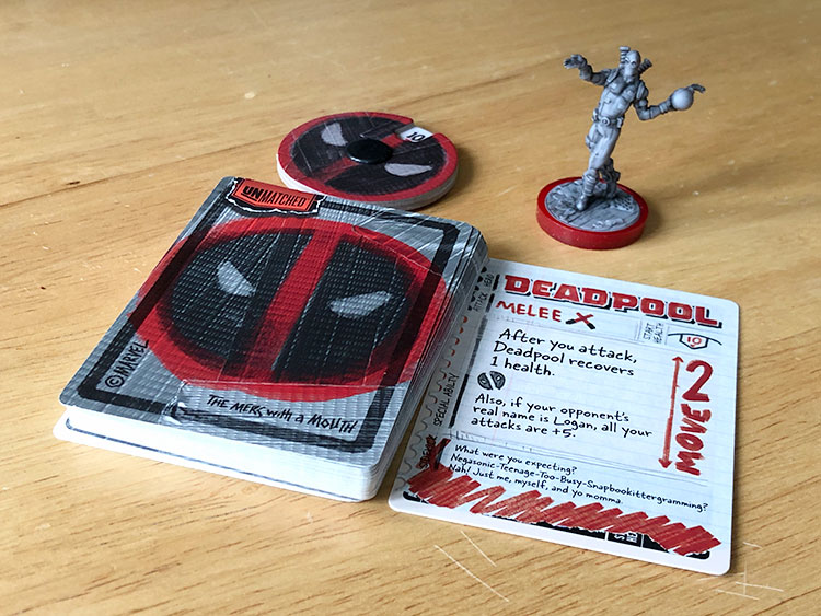 Unmatched Deadpool Components