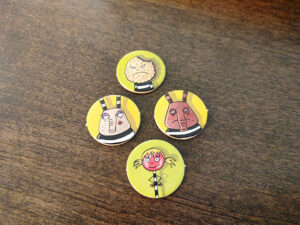 Inspector Mouse: The Great Escape Tokens