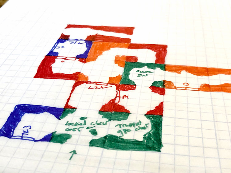 D100 Dungeon Mapping