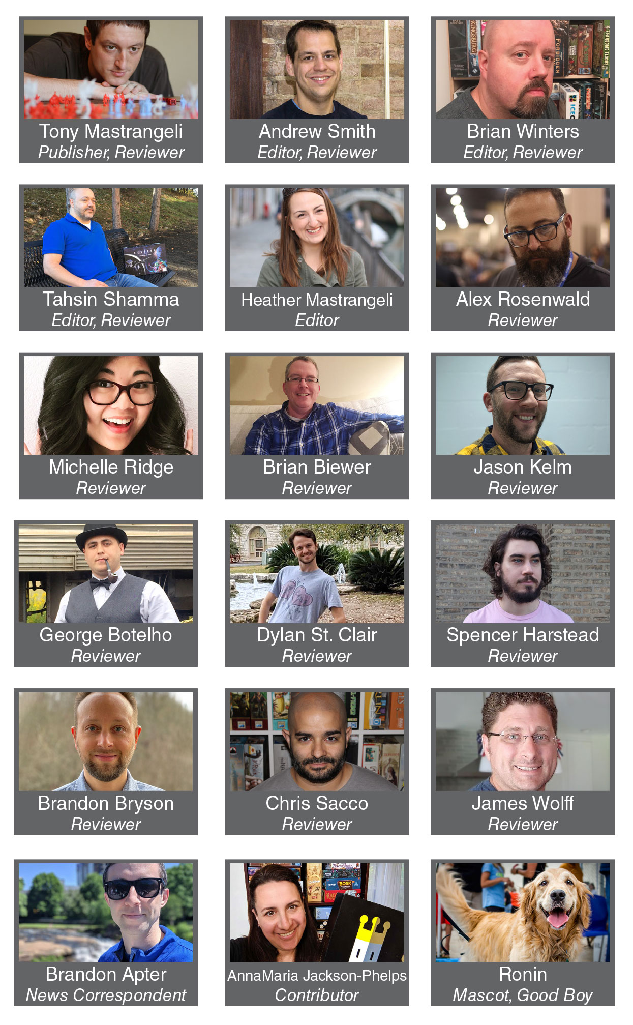 Website Staff