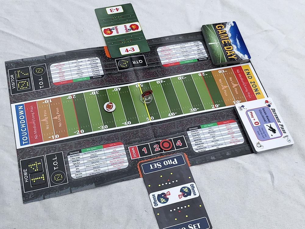 Breakaway Football Game Experience