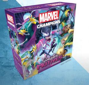 In-flight. Marvel Champions