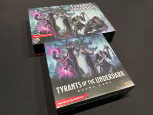 Tyrants of the Underdark Second Edition Boxes